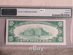 1928 $10 Gold Certificate Pmg Choice Extra Fine Epq-wonderful Note
