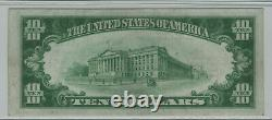 1928 $10 Gold Certificate Star Note Fr. 2400 Pmg Extremely Fine Xf Ef 40 (769a)