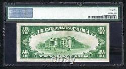 1928 $10 Gold Certificate Woods/Mellon PMG 35 Choice Very Fine