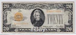 1928 20 Dollar Gold Certificate, FR 2402, Very Fine VF