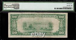 1928 $20 Gold Certificate FR-2402 Graded PMG 25 Very Fine