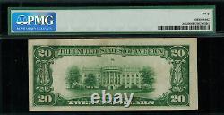 1928 $20 Gold Certificate FR-2402 Graded PMG 30 Very Fine