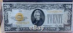 1928 $20 Gold Certificate Fine