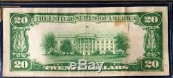 1928 $20 Gold Certificate Legal Tender Woods/mellon, Not Certified, Very Fine