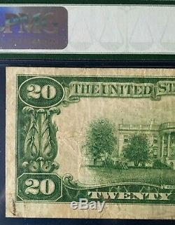 1928 $20 Gold Certificate Legal Tender Woods/mellon Pmg 25 Very Fine