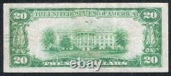 1928 $20 Gold Certificate Note Extra Fine Woods/Mellon 411A