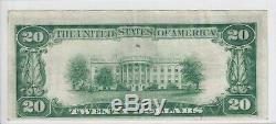 1928 $20 Gold Certificate Note Fine VF FR#2402 A37610401A