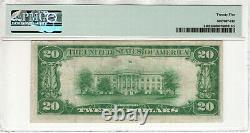 1928 $20 Gold Certificate Note Fr. 2402 Aa Block Pmg Very Fine Vf 25 (081a)