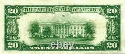 1928 $20 Gold Certificate Totally Fresh & Original Extremely Fine Note