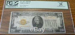 1928 $20 Gold certificate PCGS Currency grade of 30 Very Fine