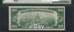 1928 $50 Fr# 2404 (AA Block) GOLD CERTIFICATE PMG Very Fine 25 VF25