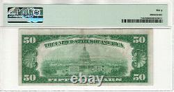 1928 $50 Gold Certificate Note Fr. 2404 Aa Block Pmg Very Fine Vf 30 (826a)