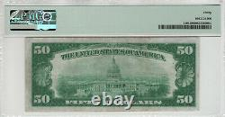 1928 $50 Gold Certificate Note Fr. 2404 Aa Block Pmg Very Fine Vf 30 (901a)