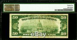 1928 Fifty Dollar $50 Gold Certificate PMG VERY FINE 25 FR# 2404 AA BLOCK