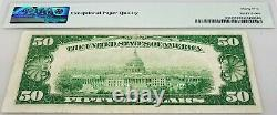 1928 Fifty Dollars Gold Certificate certified Choice Very Fine 35 EPQ by PMG