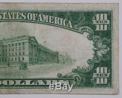 1928 Gold Certificate $10 Banknote Currency Choice Vf Very Fine (052a)
