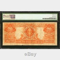 $20 1906 Fr# 1185 GOLD CERTIFICATE PMG Very Fine 25 VF25