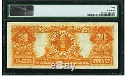 $20 1906 Fr# 1185 GOLD CERTIFICATE PMG Very Fine 30 VF30