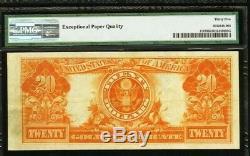 $20 1922 Gold Certificate PMG Choice Very Fine 35 EPQ EPQ Fr. 1187 VF VF35 LARGE
