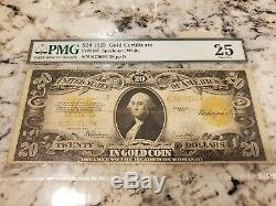$20 1922 Gold Certificate US Bank Note Very Fine