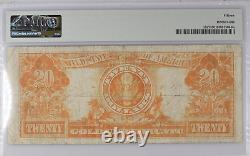 $20 1922 Gold Certificate Washington PMG Choice Fine 15 Witter Coin