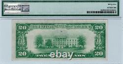 $20 1928 Gold Certificate Fr. 2402 AA Block Woods Mellon PMG 35 Ch. Very Fine
