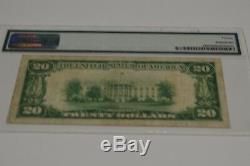 $20 1928 gold certificate pmg very fine 20