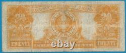 $20. Fr. 1187 1922 Gold Seal Gold Certificate Very Fine