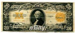 $20 GC 1922 Fr. 1187 Gold Certificate Speelman-White Fine AvenueCoin