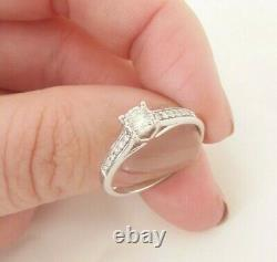 9ct gold 1/4ct diamond solitaire art deco with with certificate