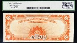 Awesome HIGH GRADE Extremely Fine 1922 $10 GOLD CERTIFICATE! FREE SHIP! 56888