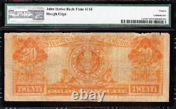 Awesome RARE Fine STAR NOTE 1922 $20 GOLD CERTIFICATE! PMG 12! FREE SHIP! 908D