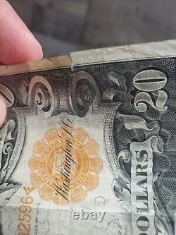 BETTER DATE Series 1906 $20 Gold Certificate FR1181 Very Fine Nice centering