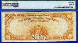 Crazy Rare 1922 $10 Gold Certificate (STAR) PMG Very-Fine 25 # 930523D