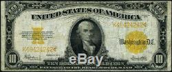 FR. 1173 $10 1922 Gold Certificate Fine+