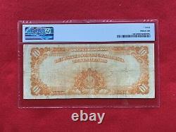 FR-1173 1922 Series $10 Ten Dollar Gold Certificate PMG 20 Very Fine