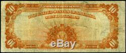 FR. 1173 A $10 1922 Gold Certificate Fine+ Small Serial