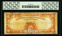 FR. 1173a 1922 $10 TEN DOLLARS STAR MULE GOLD CERTIFICATE PCGS FINE-15