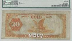FR. 1178 1882 $20 Gold Certificate PMG Very Fine 25 Net