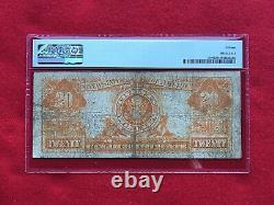 FR-1186 1906 Series $20 Gold Certificate PMG 15 Choice Fine