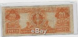 FR. 1186 $20 1906 Gold Certificate mid grade circulated fine, new holder