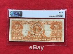 FR-1187 1922 Series $20 Gold Certificate PMG 25 Very Fine