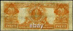 FR. 1187 $20 1922 Gold Certificate Fine+