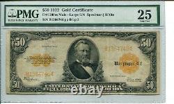 FR 1200m Mule 1922 $50 Gold Certificate 25 Very Fine