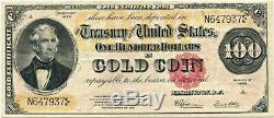 FR. 1215 1922 $100 Gold Certificate PCGS Very Fine 30