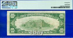 FR-2400 1928 $10 (Gold Certificate STAR) PMG Very-Fine 25 # 00587301A