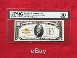 FR-2400 1928 Series $10 Ten Dollar Gold Certificate PMG 30 EPQ Very Fine