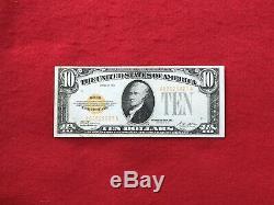 FR-2400 1928 Series $10 Ten Dollar Gold Certificate Very Fine
