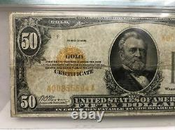 FR. 2404 1928 $50 Fifty Dollars Gold Certificate Currency Note PMG Very Fine-20