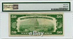 FR. 2404 1928 $50 Gold Cert PMG Very Fine 35 Gold Certificates Small